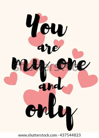 you my one only cute pattern stock vector 437544823 shutterstock rh shutterstock com free wedding vector art free wedding vector icons
