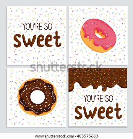 You're so sweet, lovely card with glaze