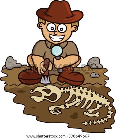 paleontologists clipart - photo #46