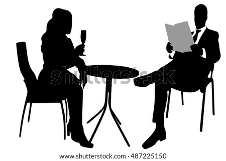 Young attractive couple enjoying drinking together in a restaurant