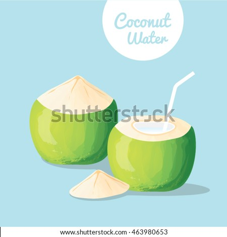 Young Green Coconut, Coconut Water, Fresh Coconut Juice