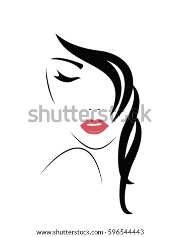 woman face silhouette stock images, royalty-free images & vectors