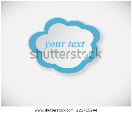 Your text in the cloud chat
