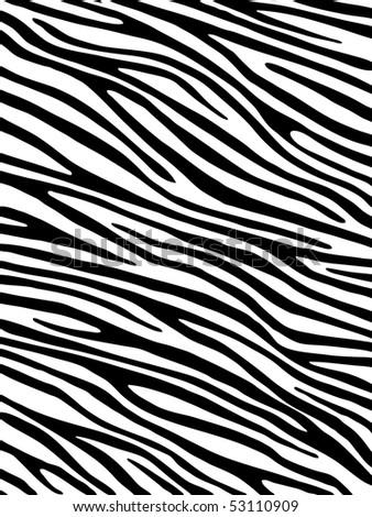 Zebra background - stock vector