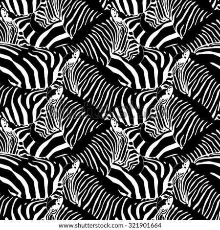 Zebra pattern vector - photo#45