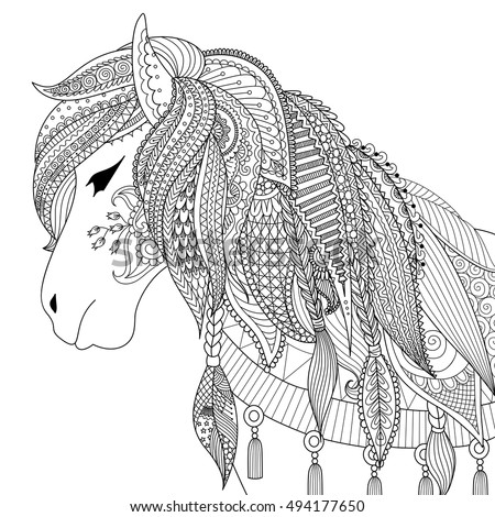 Hipster Coloring Pages #10