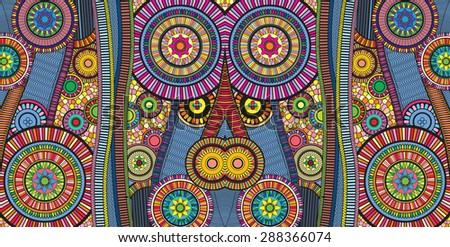 zentangle - stock vector