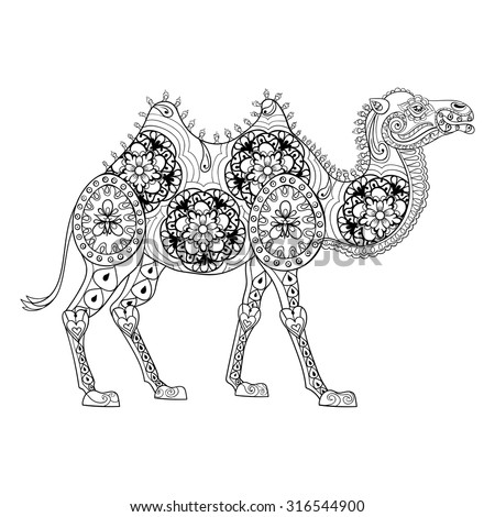 http://thumb1.shutterstock.com/display_pic_with_logo/2634025/316544900/stock-vector-zentangle-camel-totem-for-adult-anti-stress-coloring-page-for-art-therapy-illustration-in-doodle-316544900.jpg
