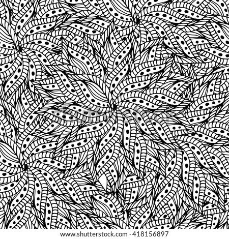 Zentangle mandala pattern for scrapbooking and textile. Made by trace from personal hand drawn sketch.
