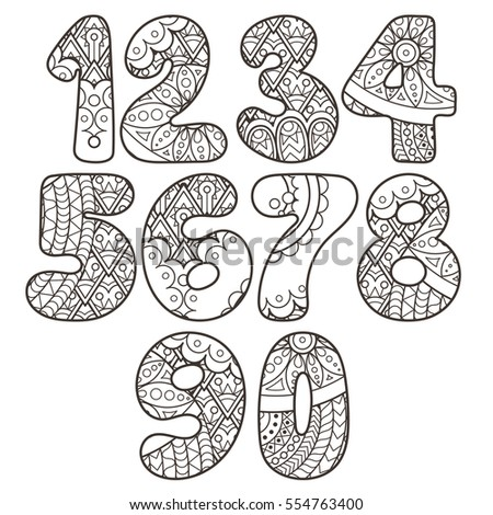 Zentangle Font Stock Photos Royalty Free Images Amp Vectors