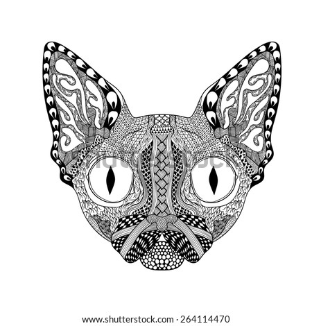 tribal animal coloring pages - photo#22