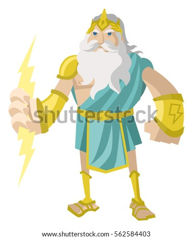 Zeus Greek God Of The Lighting Bolt Ray