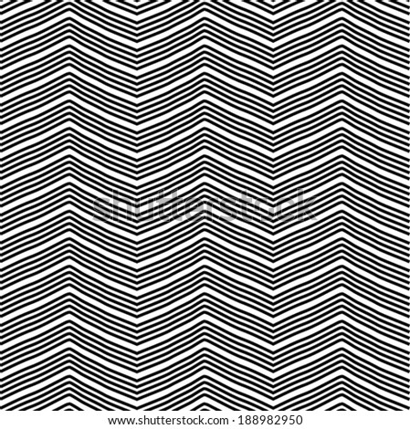 Zig Zag Pattern - stock vector