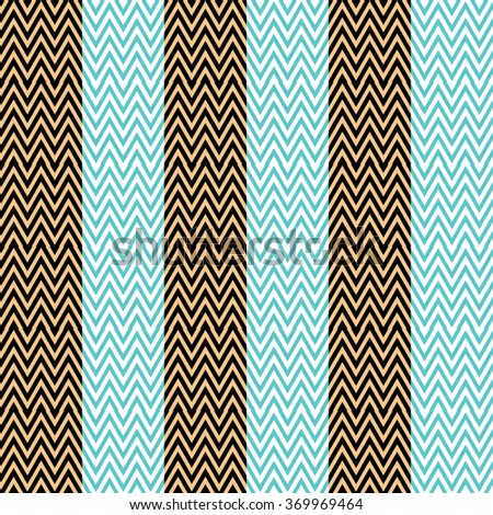 Zigzag patter, can be used for wallpaper, cover fills, web page background, surface textures. - stock vector