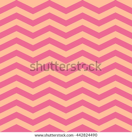 zigzag pattern in retro PINK  colors