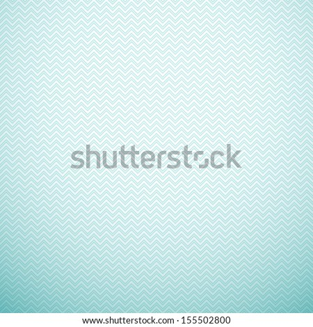 Zigzag seamless pattern. Vector illustration. Aqua, blue and white colors. Retro delicate chevron cloth texture background. Book and wall cover. - stock vector