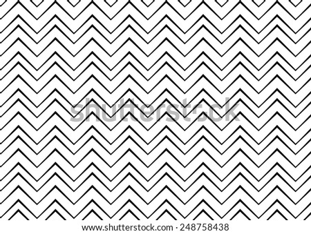 zigzag seamless vector pattern - stock vector