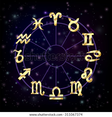 Zodiak icons stock images royalty free images vectors zodiac circle with horoscope signs pisces scorpio aquarius zodiak aries virgo vector illustration reheart Images