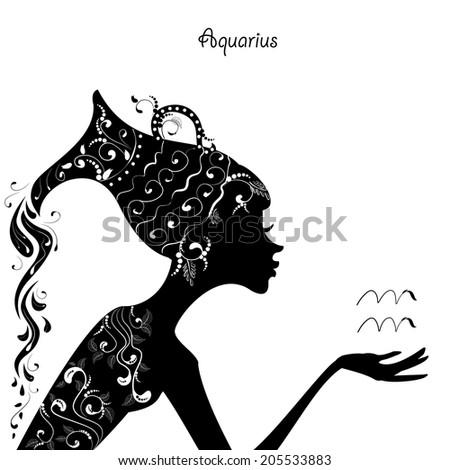 Aquarius Woman Stock Images Royalty Free Images Vectors