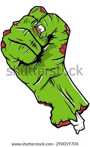 Zombie fist