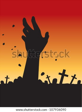Zombie hand Stock Photos  Illustrations  and Vector ArtZombie Hand Silhouette