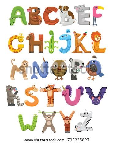 Animal on Zoo Animals Preschool Theme